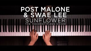 Download Post Malone & Swae Lee - Sunflower | The Theorist Piano Cover Mp3 and Videos