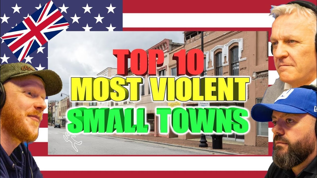 Top 10 most Violent Small towns in America REACTION!! | OFFICE BLOKES REACT!!