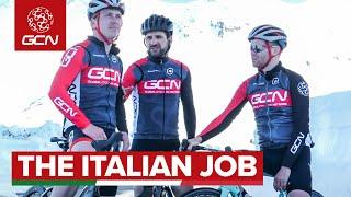 Three Italian Super Bikes: One Giant Italian Climb