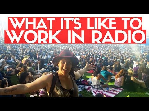 MY EXPERIENCE WORKING IN RADIO