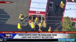 At least 4 injured in Highland Park shooting, suspect in custody