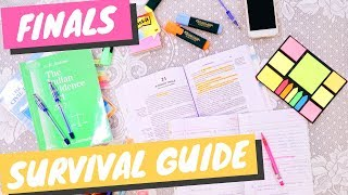 FINALS SURVIVAL GUIDE PT.2 MY STUDY TIPS & MORE