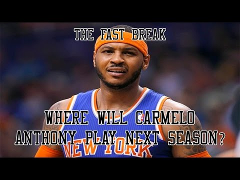 New York Knicks: Where Will Carmelo Anthony Play Next Season?