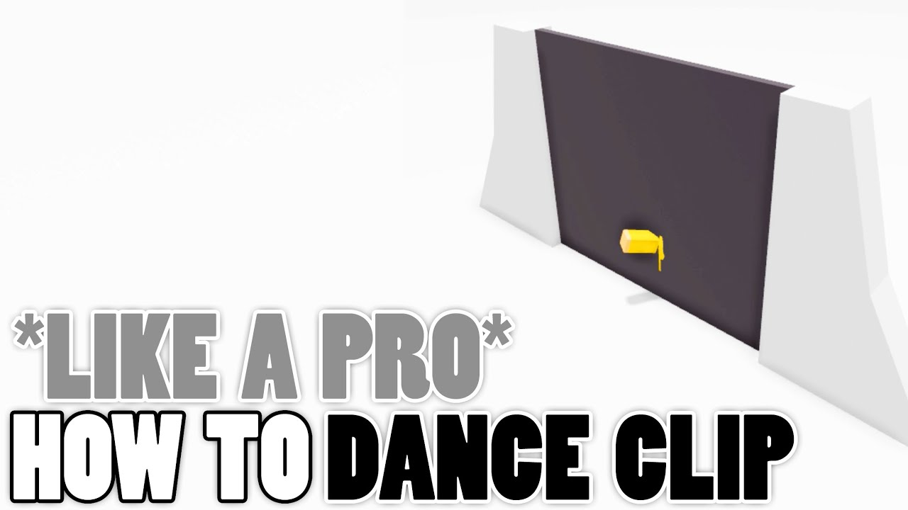 How To Dance Clip Tutorial Like A Pro Roblox Glitch Youtube