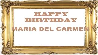 MariadelCarmen   Birthday Postcards & Postales7 - Happy Birthday
