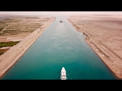 Taking a Super Yacht through the Suez Canal