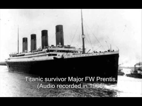 RMS Titanic Survivors True Accounts of The Sinking