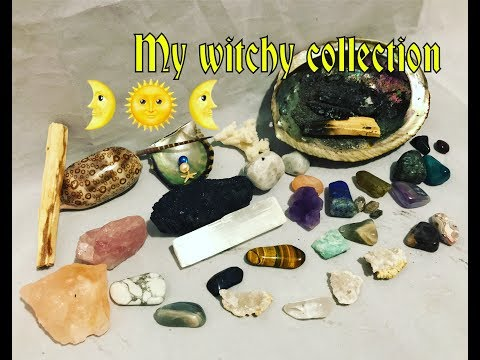 Crystals, stones and more haul- For healing and witchcraft