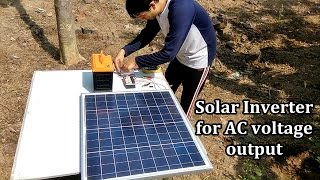 vuclip How to make a Solar Inverter in 10 minutes | No skill required