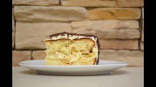 РЕЦЕПТЫ: Шоколадно-банановый торт #рецепты