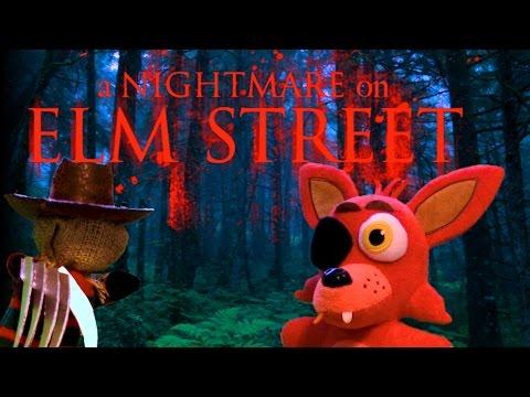 FNAF Plush Movie  A Nightmare On Elm Street