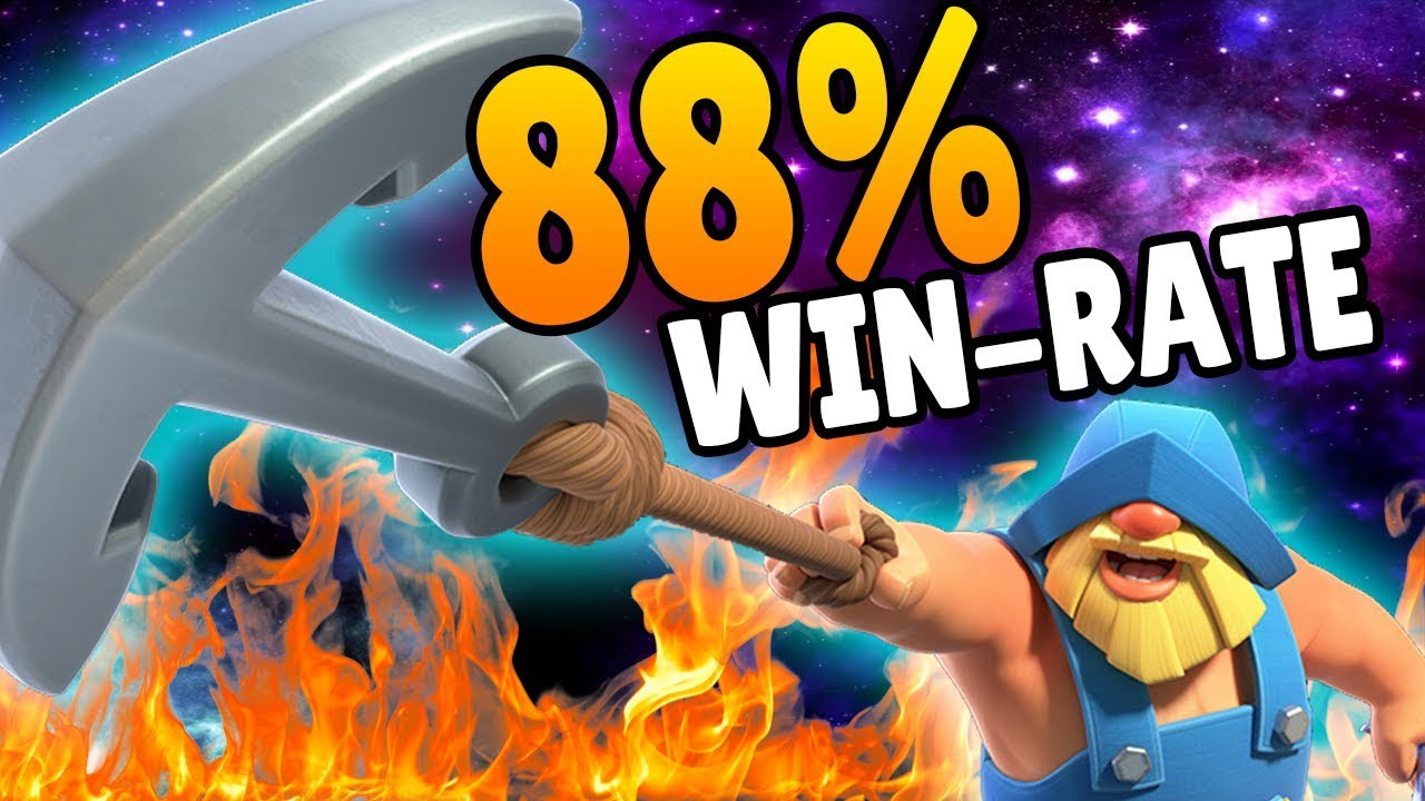 Best Fisherman Deck 88 Win Rate Clash Royale Youtube