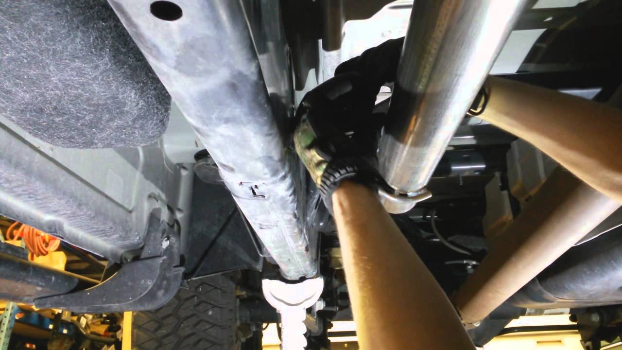 how to install flowmaster outlaw exhaust 2014 dodge ram 1500 hemi