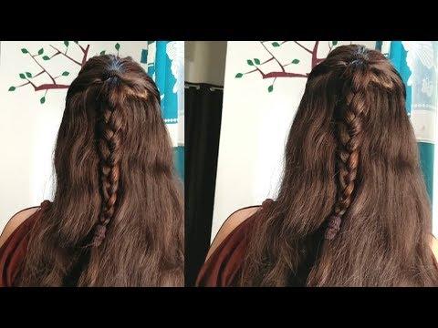 Everyday hairstyle.|| easy everyday hairstyle.||Hairstyle video. thumbnail