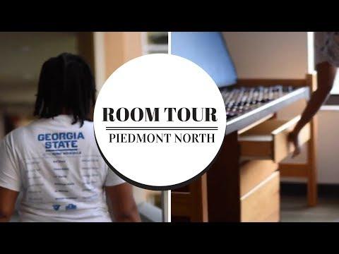 Piedmont North Room Tour | Georgia State University