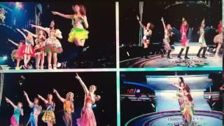 E-girlsがライブでランニングマン!