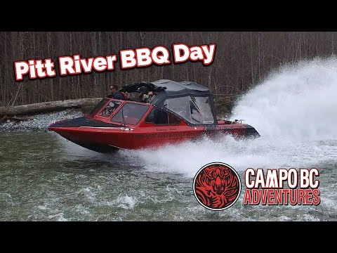Campo BC Adventures Jet Boating - Pitt River Easter BBQ