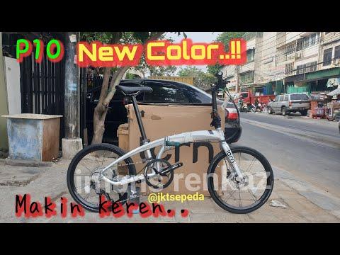New..!! Folding Bike Tern P10 Silver | Warna Terbaru 2020