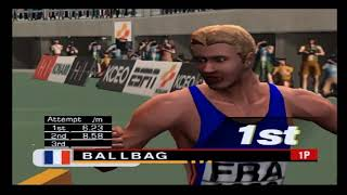 ESPN International Track & Field PS2 Gameplay