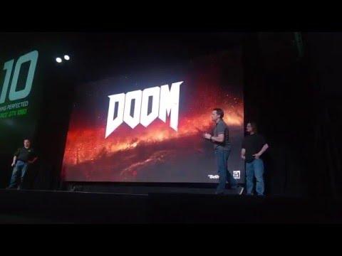 Doom (2016) running on Nvidia GeForce GTX 1080 with Vulkan API