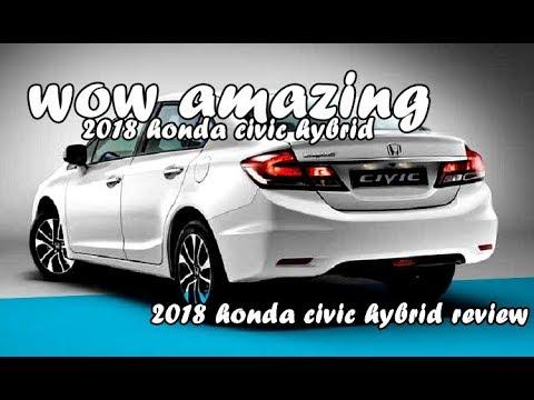 2018 honda civic hybrid