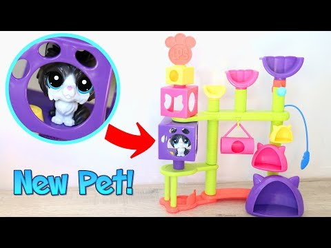 New Pets and Playsets! || LPS Cat Hideaway