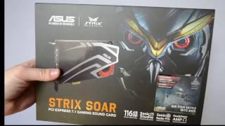 Подробный обзор звуковой карты Asus strix soar 7.1