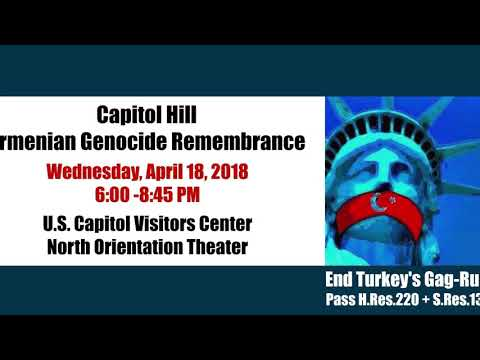 KOV:DOV JOINS THE ARMENIAN GENOCIDE REMEMBRANCE  EVENTS IN WASHINGTON DC 2018