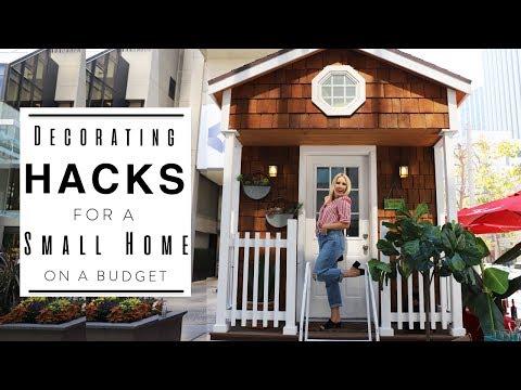 INTERIOR DESIGN | Tiny Home Hacks | Decorating a Small Apartment