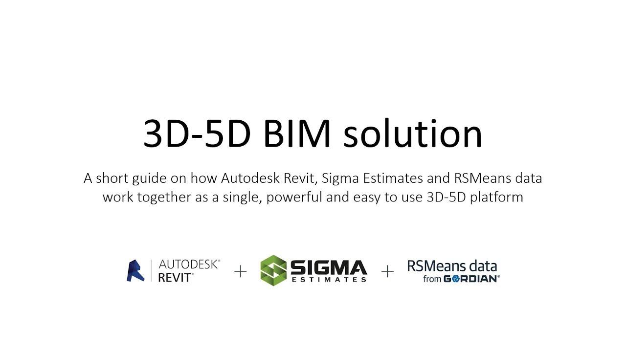 5D BIM / VDC - Sigma Estimates
