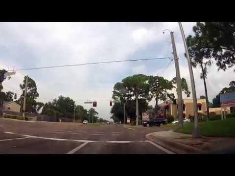 Driving around Sarasota, Florida