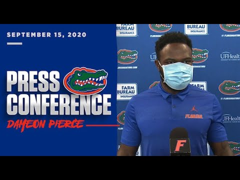 Florida Football: Dameon Pierce Press Conference 9-15-20