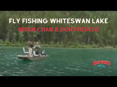 How To Fly Fish Whiteswan Lake, BC