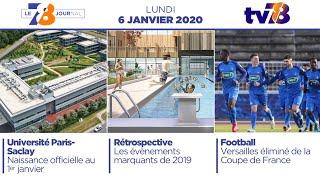 7/8 Le Journal. Edition du 6 janvier 2020