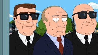 Peter meets Vladimir Putin