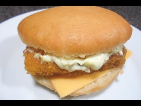 How To Make McDonalds Filet O Fish - Easy Cooking!
