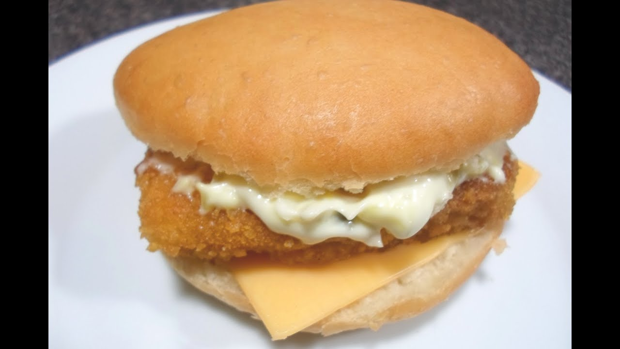 How to make mcdonalds filet o fish easy cooking youtube for Mcdonalds fish sandwich