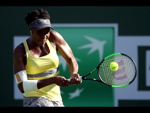 2017 BNP Paribas Open Fourth Round   V. Williams vs Peng   WTA Highlights
