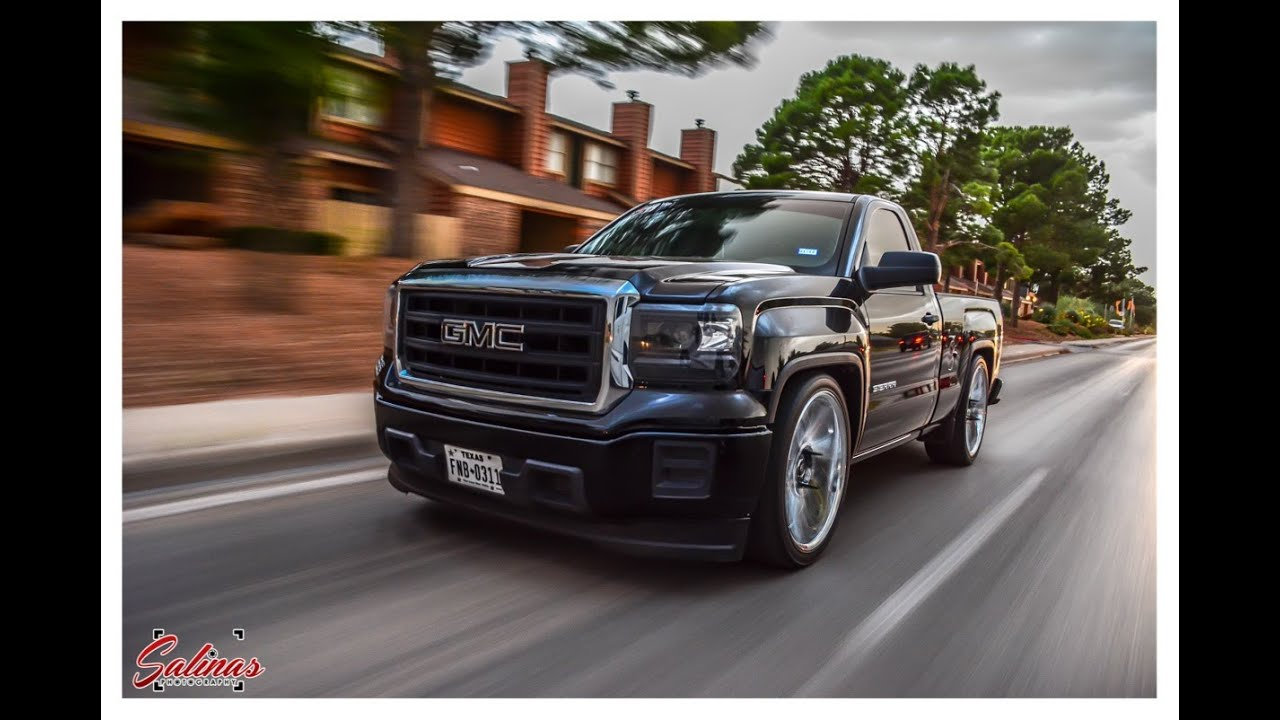 dropped 2015 gmc sierra single cab on 24s dub swervs does. Black Bedroom Furniture Sets. Home Design Ideas