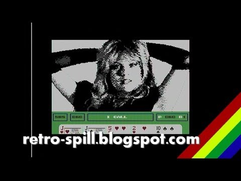 Samantha Fox Strip Poker - Commodore 64