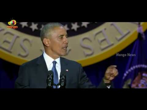 Barak Obama Says Race Remains Divisive Force In Society | Farewell Speech | Mango News