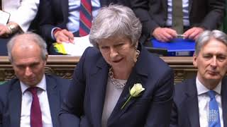 Prime Minister's Questions: 8 May 2019 - Brexit, public services funding, Palace of Westminster