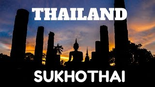 Ruins Of The Sukhothai Kingdom Thailand