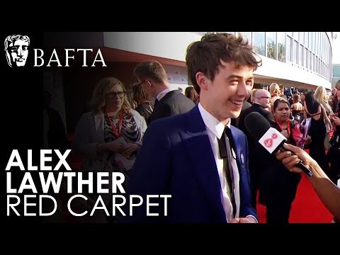 Alex Lawther is 'Delightfully Overwhelmed' by the red carpet experience  BAFTA TV Awards 2018