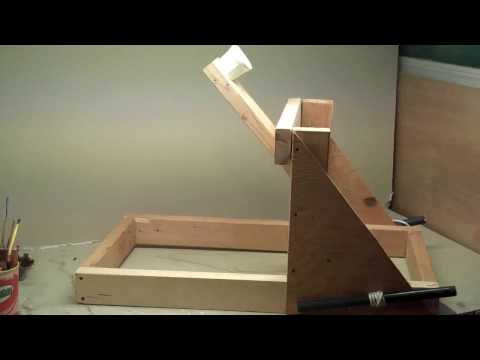 The Wyvern Torsion Powered Catapult