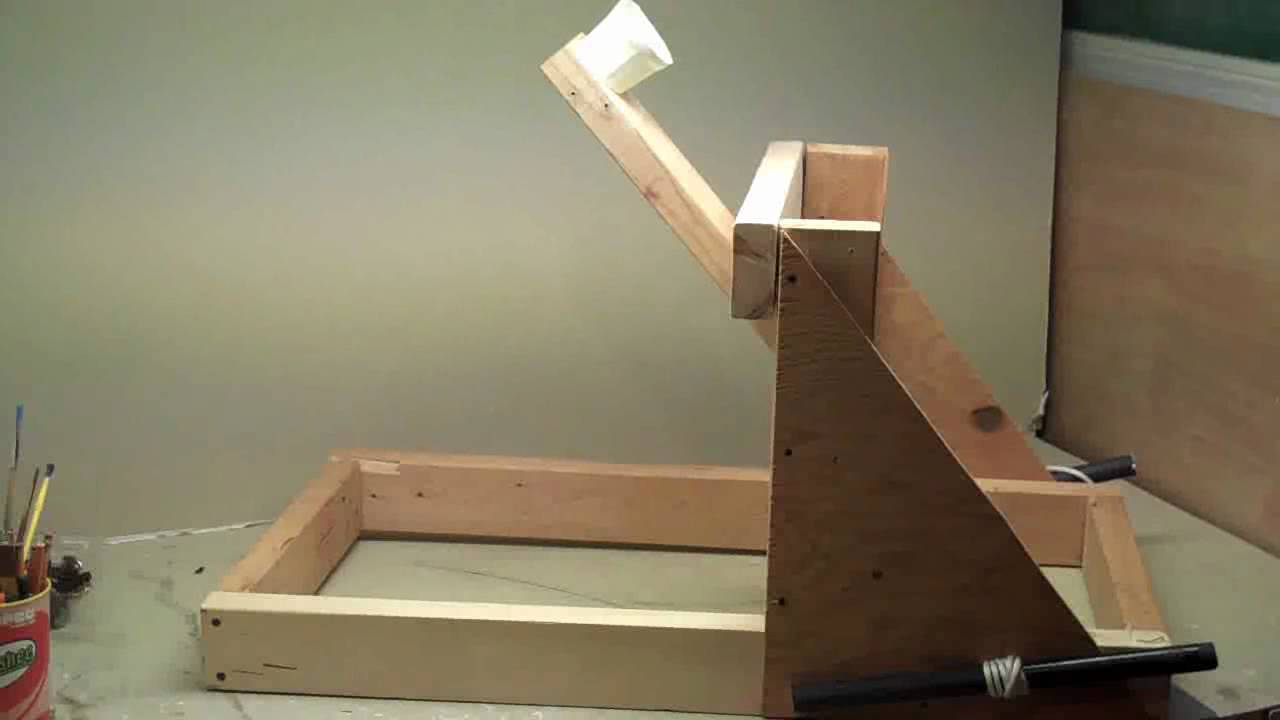 The Wyvern Torsion Powered Catapult Youtube