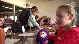 Meisjes nemen hijskraanbedrijf Harderwijk over tijdens jaarlijkse Girlsday