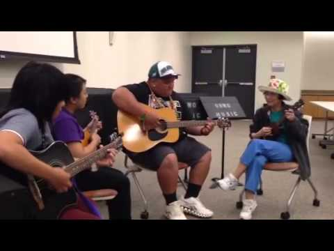 Uh west Oahu Hawaiian ensemble West side medley