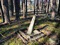 Заброшенное кладбище ОЛП Усольлага #129