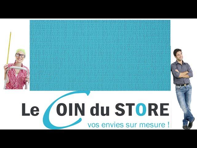 Toile PVC pour pergola et store Soltis Perform 92 Hawai vert bleu lagon 50269 Serge Ferrari